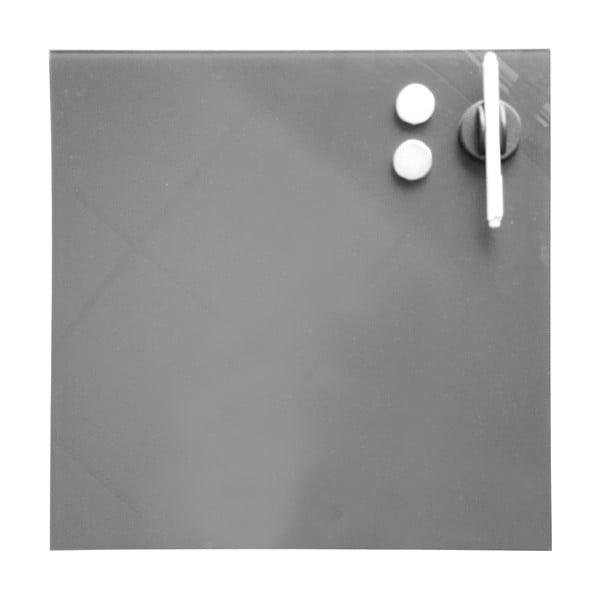 Magnetická nástěnka Memo, šedá