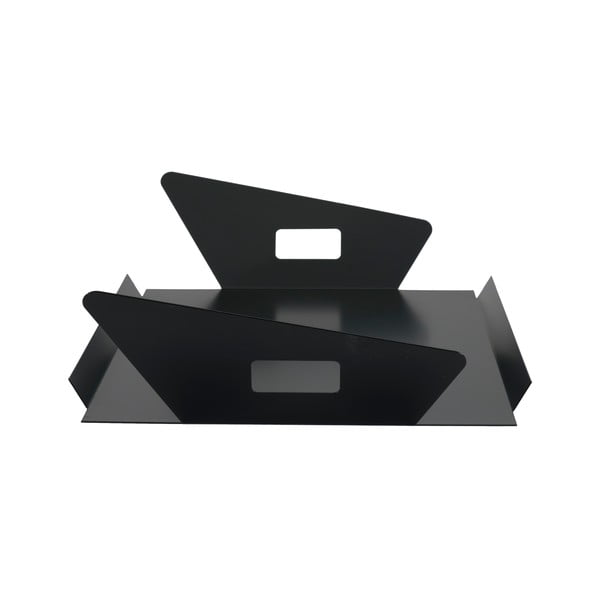 Kovový podnos Gie El 60x33 cm, černý