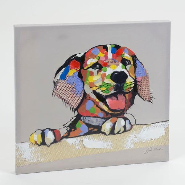 Obraz na plátně Puppy Dog, 60x60 cm