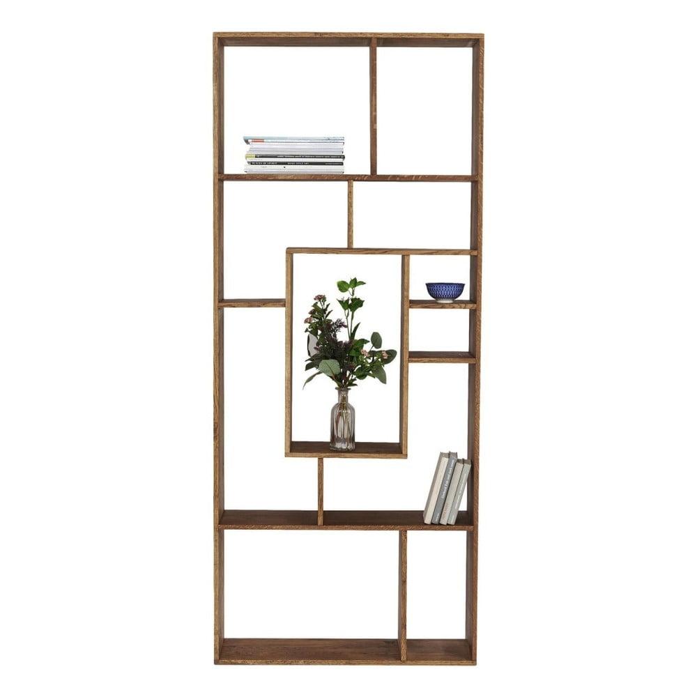 knihovna ze d eva sheesham kare design regal attento. Black Bedroom Furniture Sets. Home Design Ideas