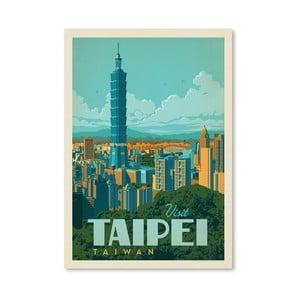 Plakát Americanflat Taipei, 42 x 30 cm