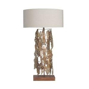 Zlatá stolní lampa Vivorum Magnifique, výška 87 cm
