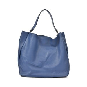 Modrá kožená kabelka Luisa Vannini Claudia