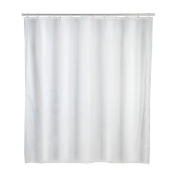 Perdea duș rezistentă la mucegai Wenko, 120x200cm, alb imagine