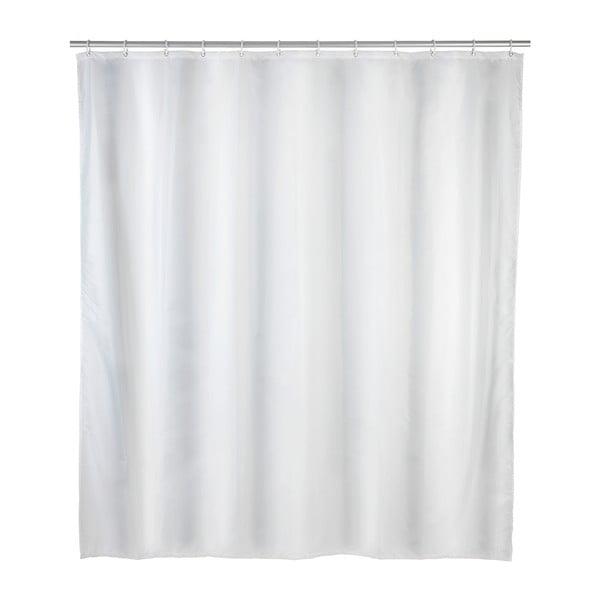 Bílý sprchový závěs odolný vůči plísním Wenko, 120x200cm