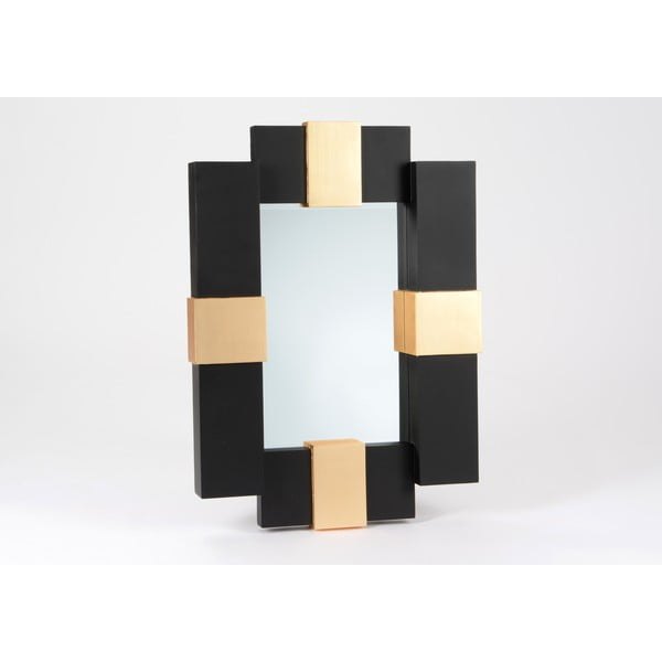 Zrcadlo Black and Gold, 90 cm
