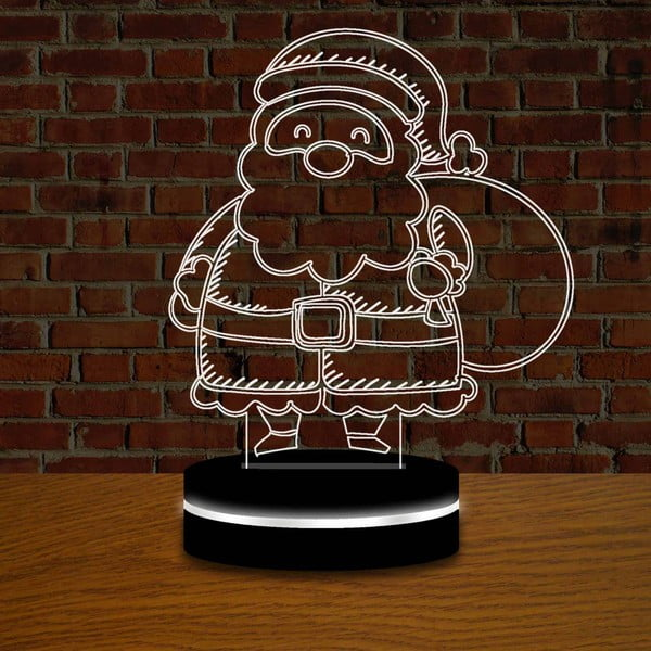 Lampa s 3D efektem Christmas no. 5