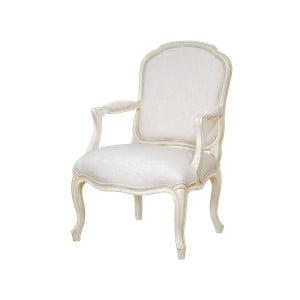 Krémově bílá jídelní židle s konstrukcí z březového dřeva Livin Hill Verona
