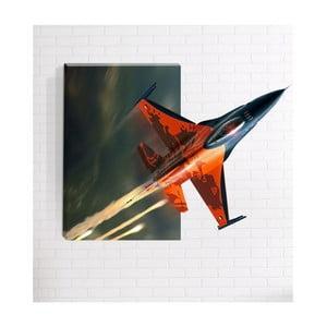 Nástěnný 3D obraz Mosticx Raketa, 40 x 60 cm