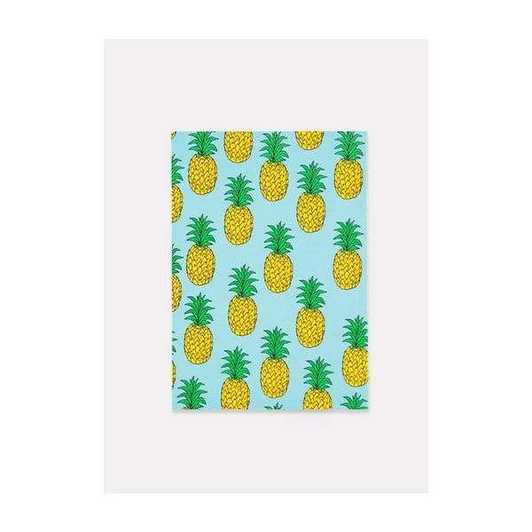 Zápisník Pineapple A5