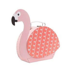 Kufřík Sass & Belle Tropical Flamingo