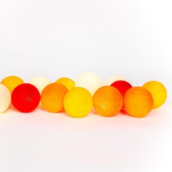 Světelný řetěz Prachtmycena, 20 kuliček