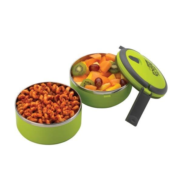 Zelená kulatá miska na oběd Pioneer Lunchbox