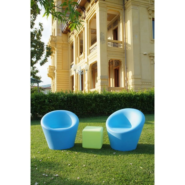 Venkovní stolek Cubo, béžový