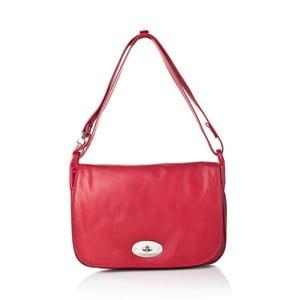 Červená kožená kabelka Gianni Conti Adelia 61a773ddd06