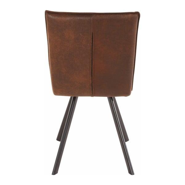 Sada 2 hnědých jídelních židlí Støraa Peter
