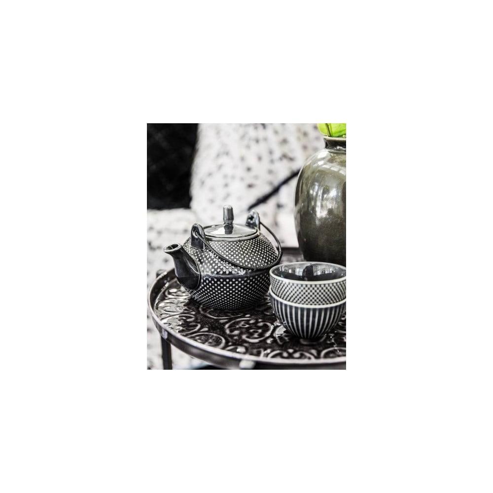 ceainic a simple mess aia negru bonami. Black Bedroom Furniture Sets. Home Design Ideas
