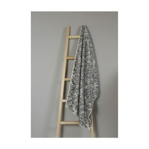 Šedý bavlněný ručník My Home Plus Bath, 70 x 135 cm
