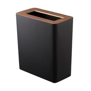 Coș de gunoi Yamazaki Rin Square, negru