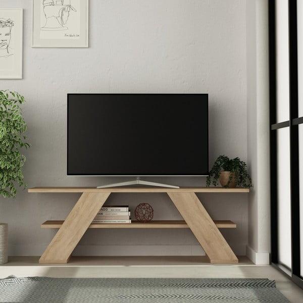 TV stolek v dekoru dubového dřeva Farfalla Oak