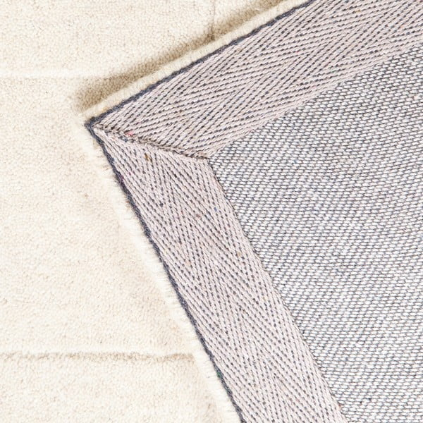 Vlněný koberec Luzern, 170x240 cm, bílý