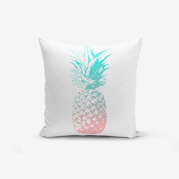 Față de pernă Minimalist Pineapple, 45 x 45 cm
