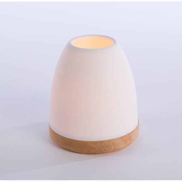 Svícen Hildra 14 cm, bílý