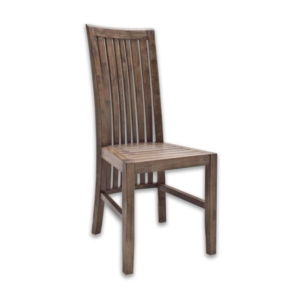 Scaun din lemn de salcâm SOB Sydney, maro închis