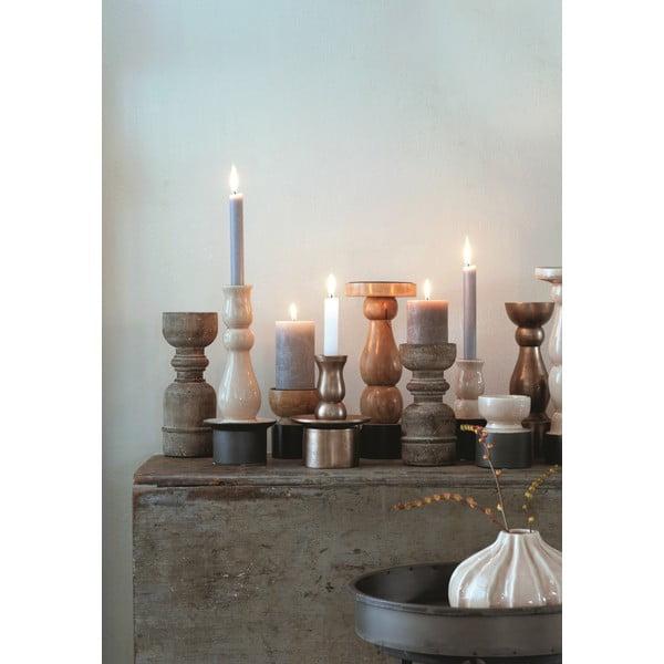 Keramická váza Marlena Ochre, 8x11 cm