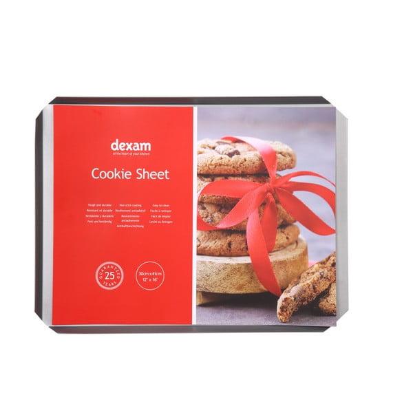 Pečící plech na sušenky s nepřilnavým povrchem Dexam Cookie Sheet, 30x41cm