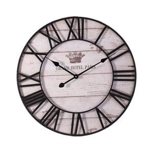 Nástěnné hodiny ze dřeva Last Deco Ghana, ø 60 cm