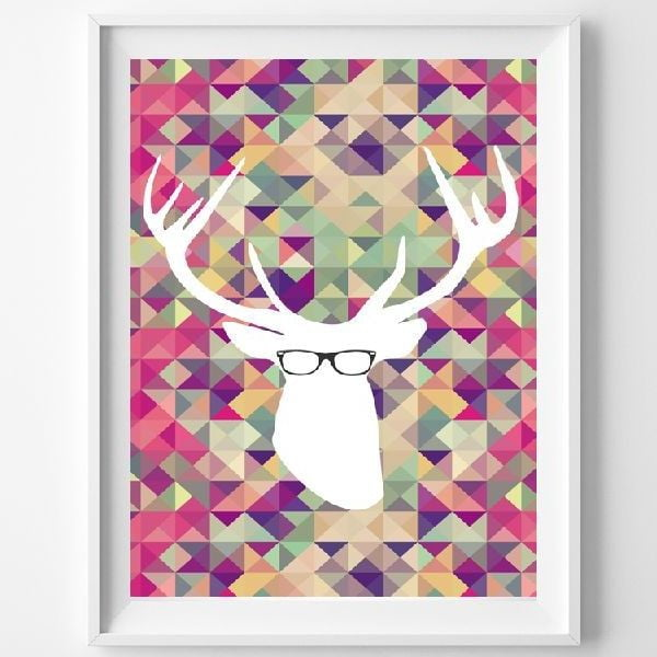 Plakát Smart Deer, A3