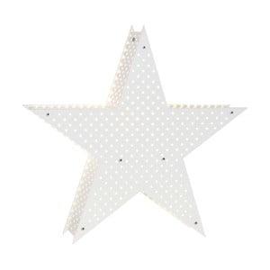 Bílá svítící LED hvězda Best Season Starlight