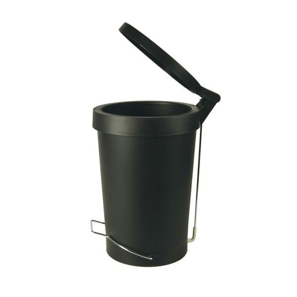 Pedálový koš Tip, 30 l, matně černá