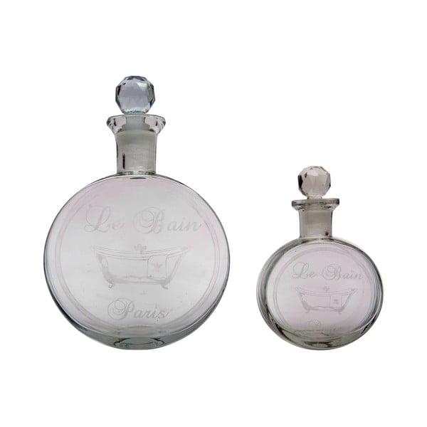 Komplet 2 buteleczek szklanych Antic Line Le Bain