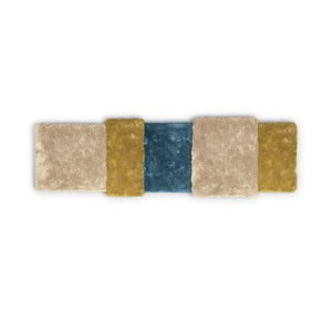 Covor Over Stripe EMKO, galben - albastru