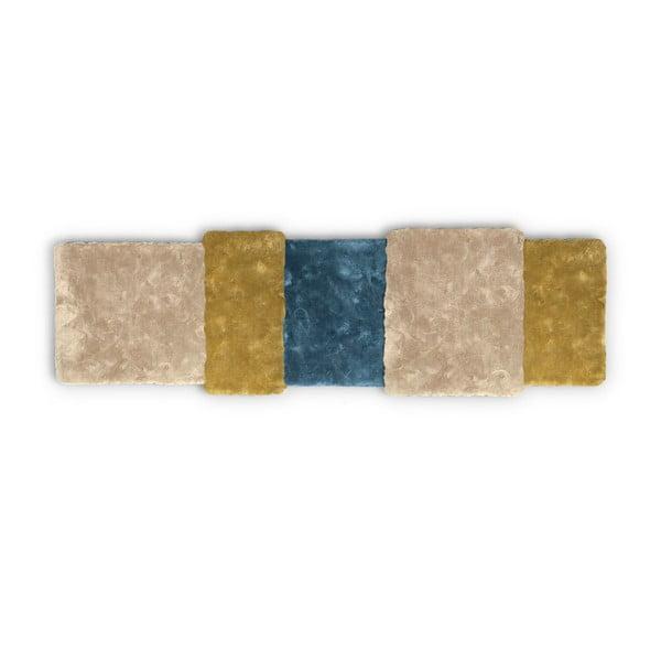 Hnědomodrý koberec EMKO Over Stripe