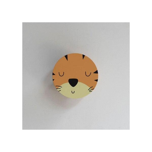 Věšák ve tvaru zvířete Little Nice Things Tiger