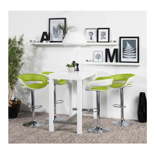 Sada 2 zelených barových židlí Actona Grace