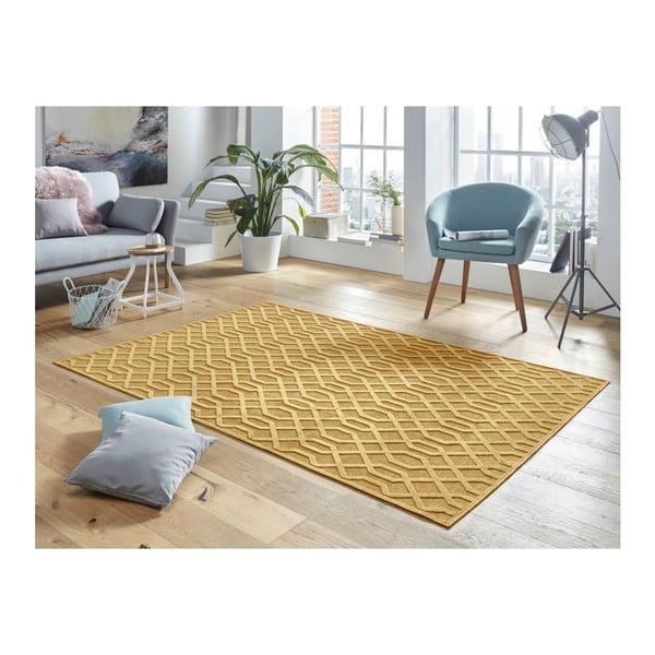 Oranžový koberec Mint Rugs Shine Mero, 200 x 300 cm