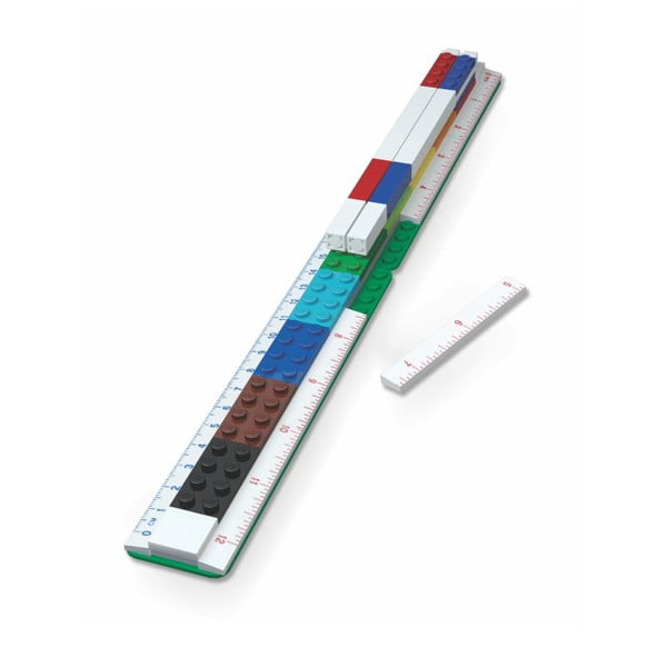 Riglă LEGO®, 30 cm