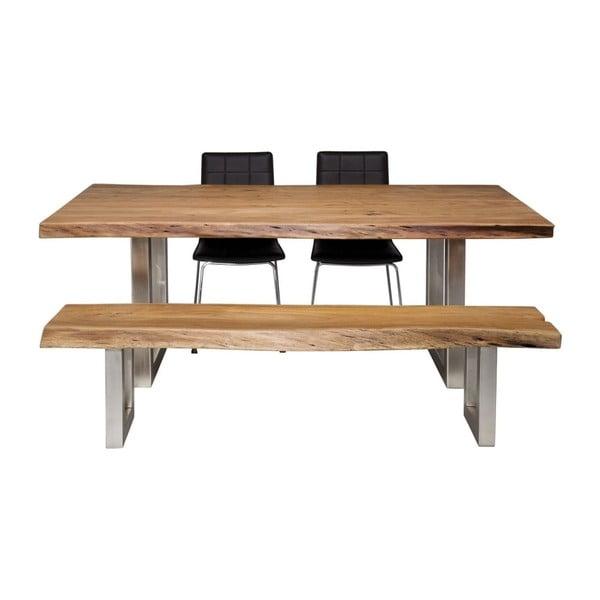 Jídelní stůl z akáciového dřeva Kare Design Downtown, 195 x 100 cm