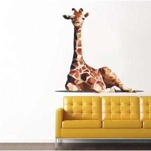 Samolepka na stěnu Žirafa, 90x120 cm