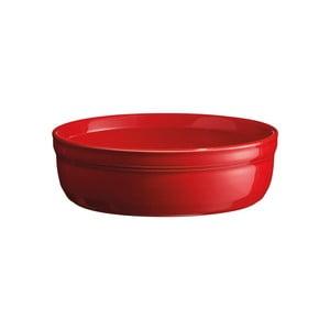 Červená zapékací miska na crème brûlée Emile Henry, ⌀ 12 cm