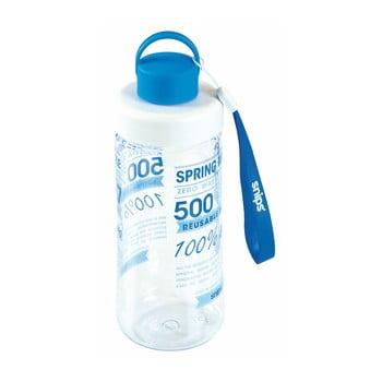 Sticlă de apă Snips Decorated, 500 ml, albastru