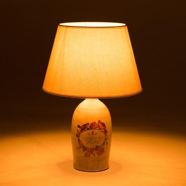 Keramická stolní lampa Birds
