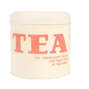 Dóza na čaj Typography