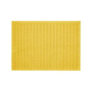Žlutá koupelnová předložka Jalouse Maison Tapis De Bain Duro Jaune, 50 x 70 cm