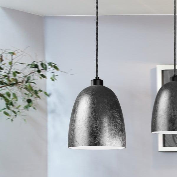 Dvojité světlo AWA Elementary black matte silver/white/white