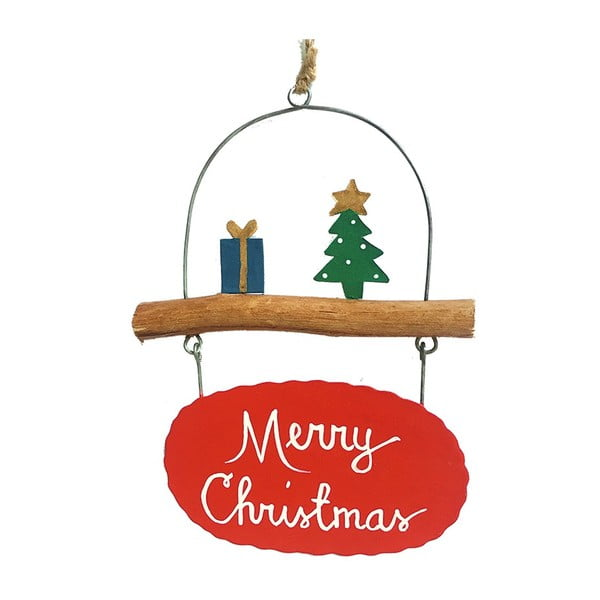 Decorațiune suspendată pentru Crăciun G-Bork Merry Christmas